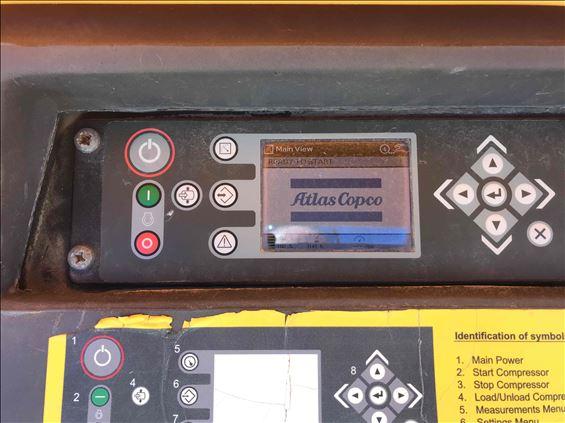 2017 Atlas Copco XAS185KD7 FT4 Air Compressor