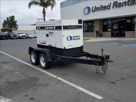 2017 Multiquip DCA40SSKU4F Diesel Generator