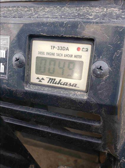 2017 Multiquip MVH308DZ Plate Compactor