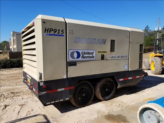 2014 Doosan HP915WCU-T4I Air Compressor