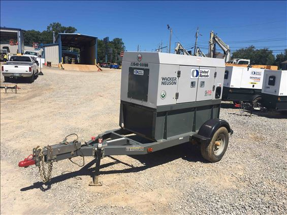 2015 Wacker Neuson G25 ERT T4 Diesel Generator