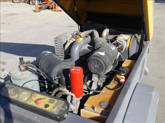 2013 Atlas Copco XAS185JD7IT4STE Air Compressor