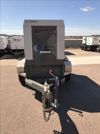 2012 Wacker Neuson G 100 Diesel Generator