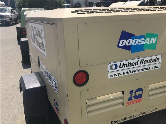 2017 Doosan P425WJD-IQ-T3 Air Compressor