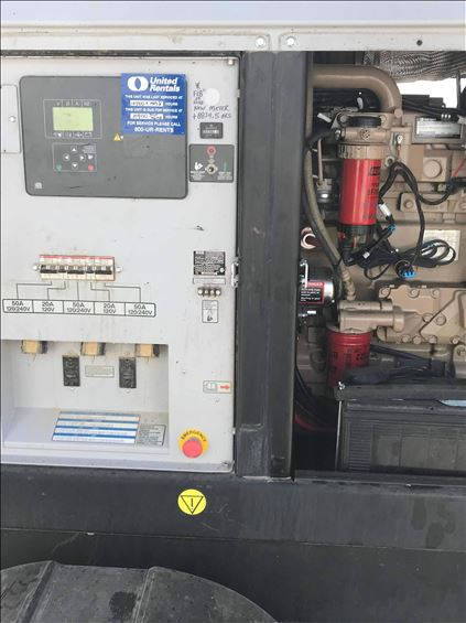 2018 Wacker Neuson G70 T3 Diesel Generator