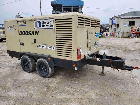2015 Doosan HP750WCU-T4F Air Compressor