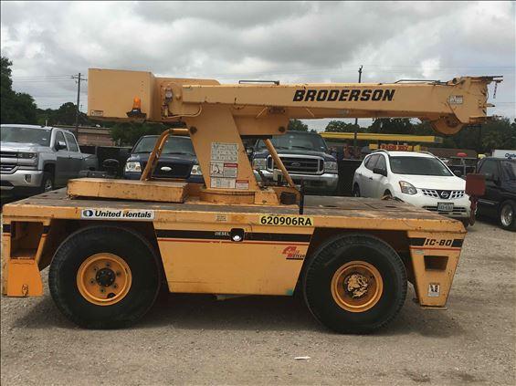 2005 Broderson IC-80-1G Crane