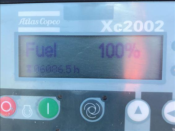 2014 Atlas Copco XATS750JD Air Compressor