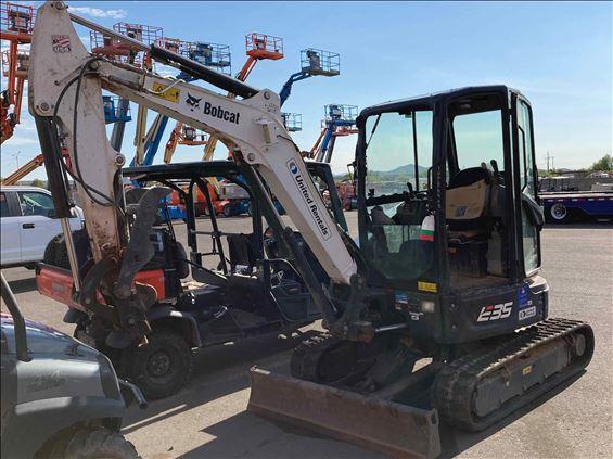 2018 Bobcat E35I Mini-Excavator