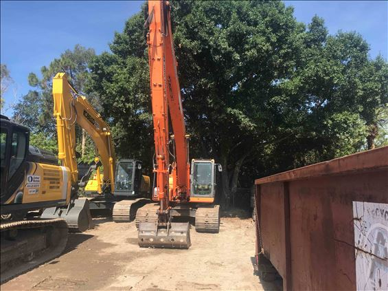 2014 Doosan DX225LC-3 SLR Excavator