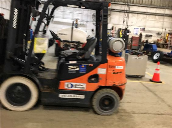 2014 Doosan G25E Warehouse Forklift
