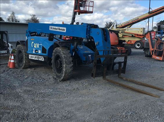 2017 Genie GTH-844 Rough Terrain Forklift