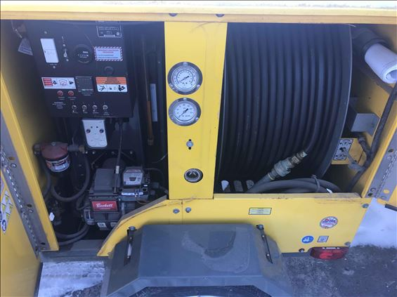 2015 Wacker Neuson E1100 Ground Heater