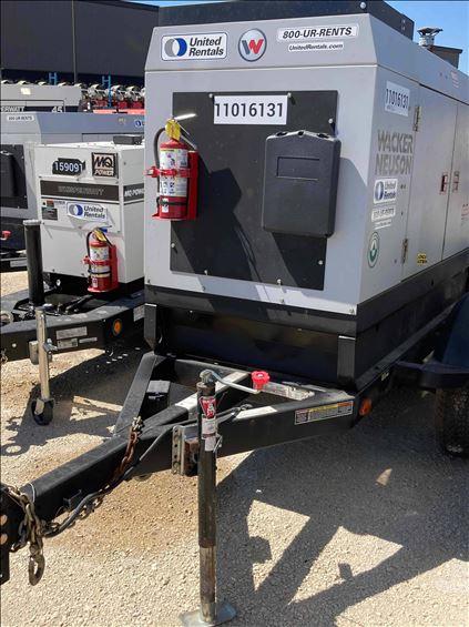 2019 Wacker Neuson G50 T4F Diesel Generator