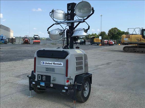 2018 Wacker Neuson LTV6K Towable Light Tower