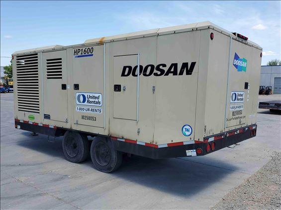 2014 Doosan HP1600WCU-T4I Air Compressor
