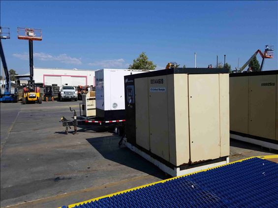 2012 Ingersoll Rand R1101-A-125PSI Air Compressor