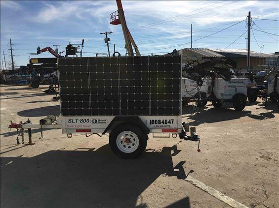 2012 Progress Solar Solutions SLT800(HVR-N) Towable Light Tower
