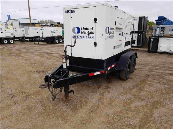 2016 Cummins C100D6R Diesel Generator