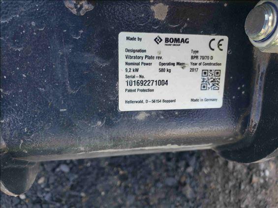 2017 BOMAG BPR70/70DE Plate Compactor
