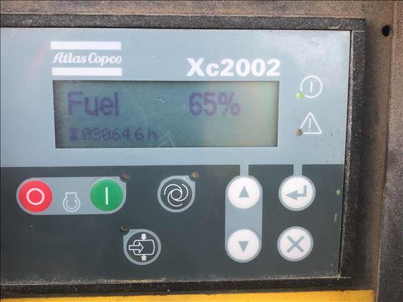 2014 Atlas Copco XAS400 Air Compressor