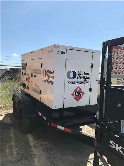 2017 Cummins C100D6R Diesel Generator
