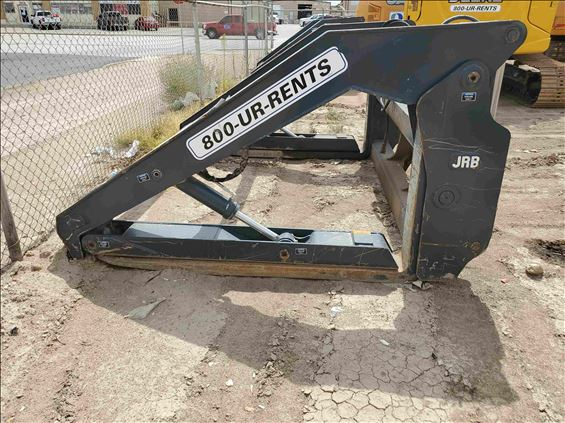 """2017 Case FRK-72"""" PIPE Earthmoving Attachment"""