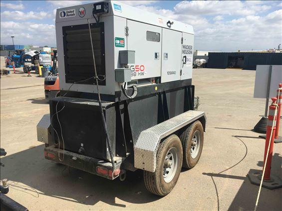 2017 Wacker Neuson G 50 Diesel Generator