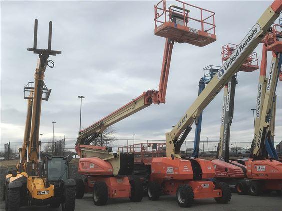 2011 JLG 1250AJP Boom Lift