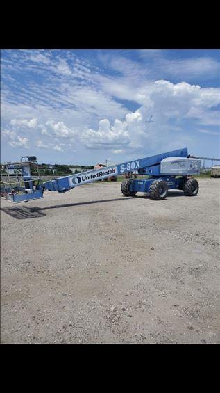 2013 Genie S-80X Boom Lift