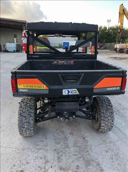 2019 Polaris PRO XD 4000D Utility Vehicle