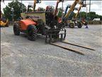 2017 JLG 1255 Rough Terrain Forklift