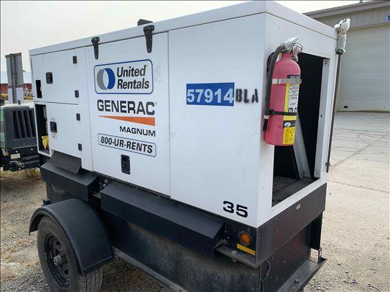 2018 Magnum Pro MMG35DF4 Diesel Generator