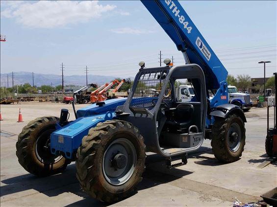 2014 Genie GTH-844 Rough Terrain Forklift