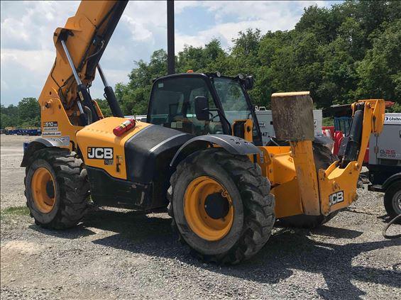 2018 JCB 510-56 Rough Terrain Forklift