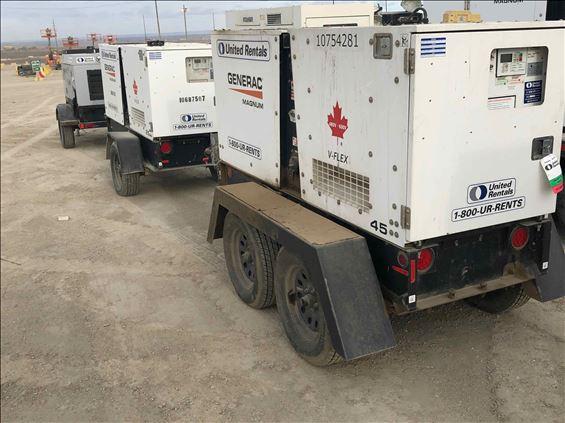 2018 Magnum Pro MMG45FHKCAN6 Diesel Generator