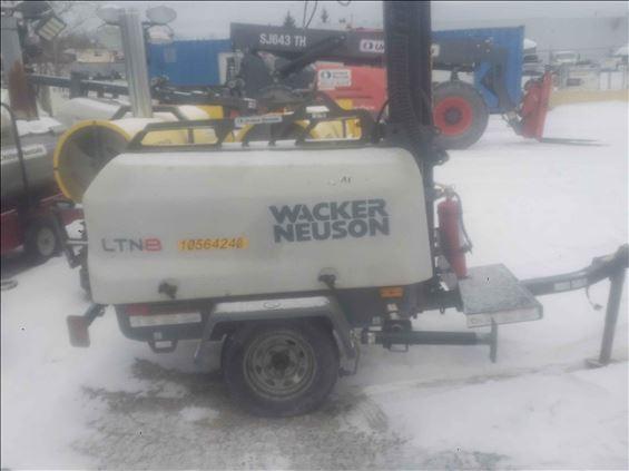2017 Wacker Neuson LTN8K-VS Towable Light Tower