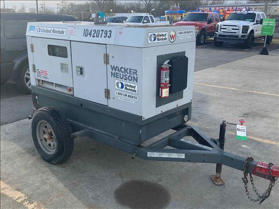 2015 Wacker Neuson G 25 Diesel Generator