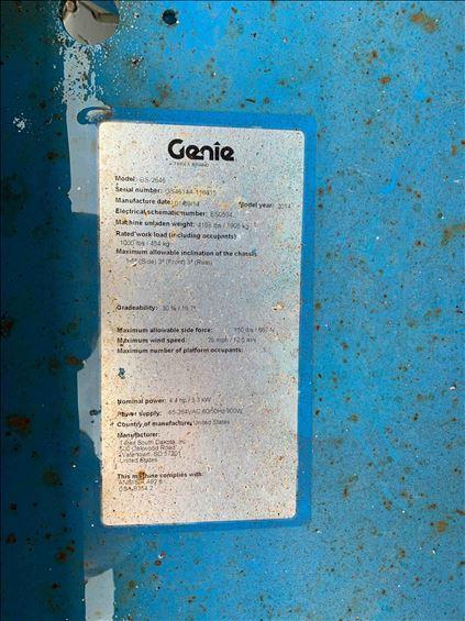 2014 Genie GS-2646 Scissor Lift