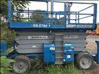 2013 Genie GS-5390 RT Scissor Lift