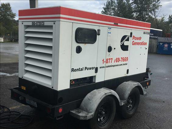 2007 Cummins C60D6R Diesel Generator