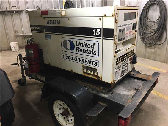 2014 Multiquip DCA15SPXU4F Diesel Generator