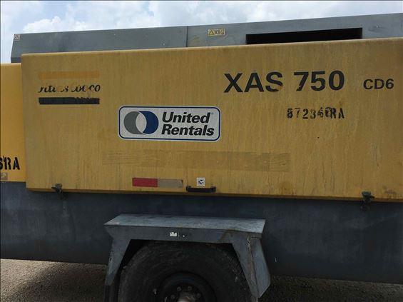 2011 Atlas Copco XAS750CD6 Air Compressor