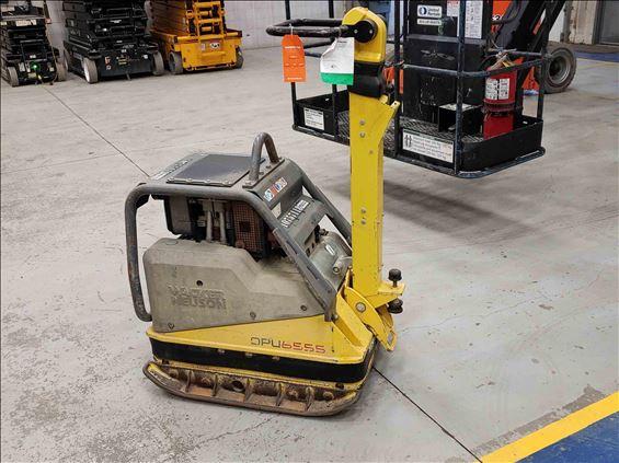 2018 Wacker Neuson DPU6555 HECH Plate Compactor