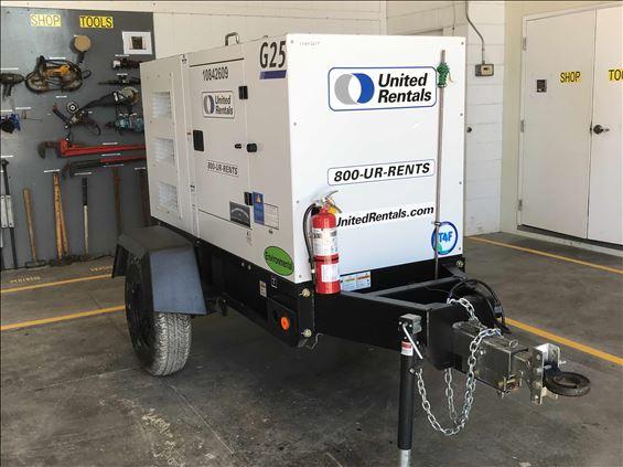 2016 Doosan G25WMI-2A-T4I Diesel Generator