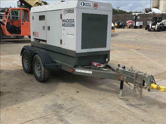 2014 Wacker G 50 Diesel Generator