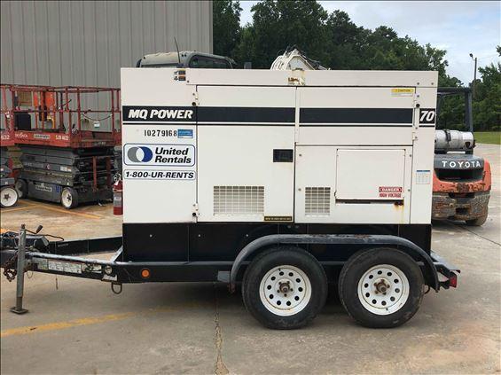 2014 Multiquip DCA70SSJU4I Diesel Generator