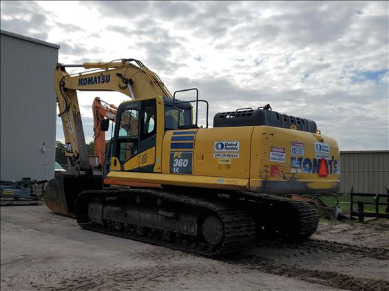 2015 Komatsu PC360LC-10 Excavator