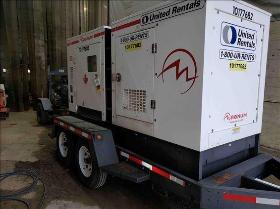 2013 Magnum Pro MMG120 Diesel Generator