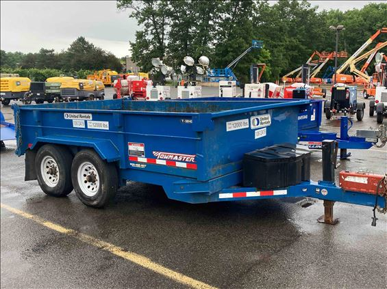 2017 Towmaster T-12HD 12' Trailer
